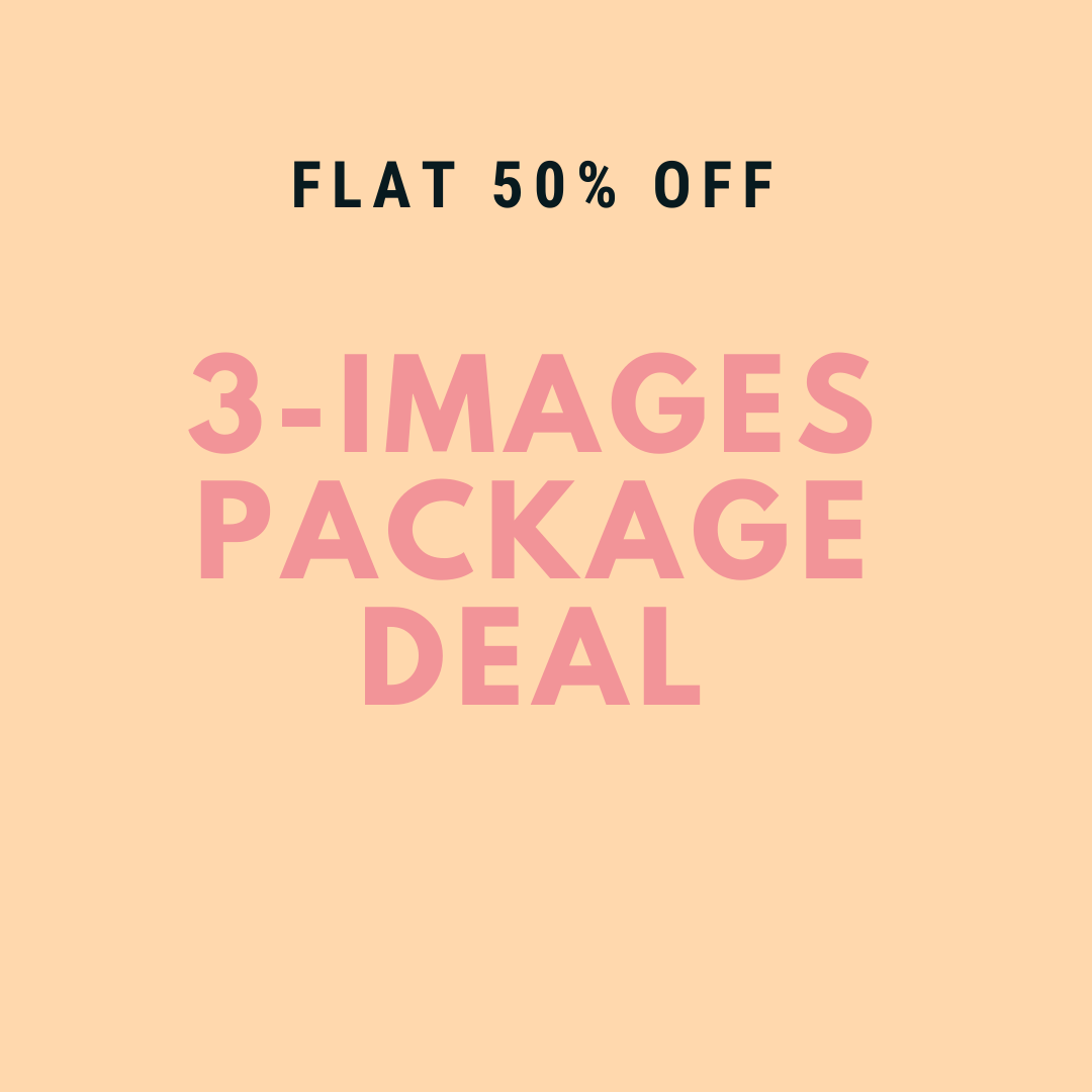 3 Images Photography Package - Baby Boy -  0-6 months