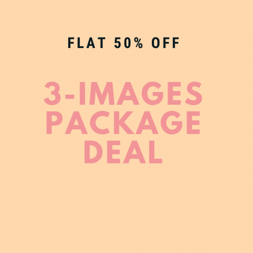 3 Images Photography Package - Baby Girl -  0-6 months