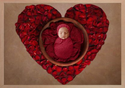 3 Images Photography PRINT + FRAME Package - Baby Boy - 0-6 months