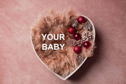 3 Images Photography PRINT + FRAME Package - Baby Girl - 0-12 months