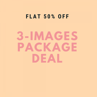 3 Images Photography Package - Baby Girl -  0-12 months - Littleaarchi
