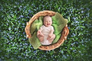 Supergreen basket | Full Baby Photography - Littleaarchi
