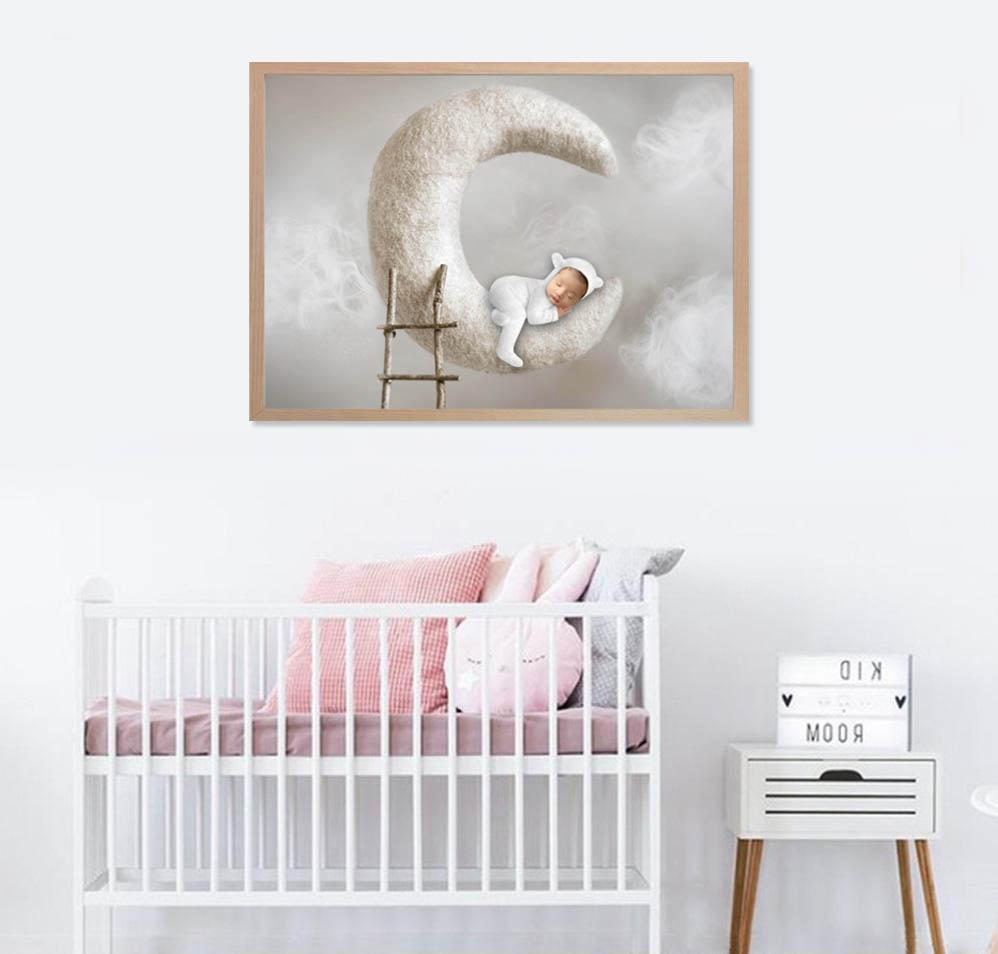 3 Images Photography PRINT + FRAME Package - Baby Boy -  0-12 months - Littleaarchi