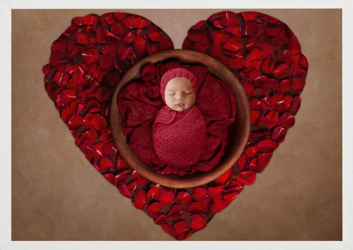 3 Images Photography PRINT + FRAME Package - Baby Girl - 0-12 months - Littleaarchi