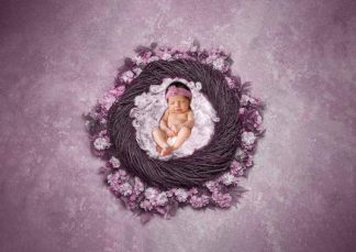 Gorgeous Flowers Basket | Girl, Boy baby Photography - Littleaarchi