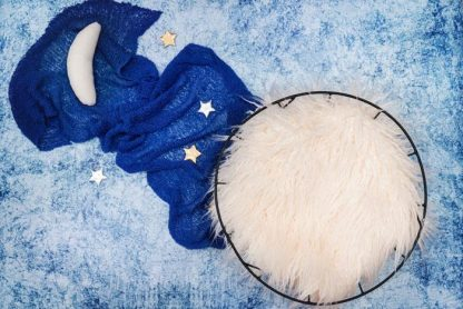 Sky moon stars | Full Baby Photography Backdrop - Littleaarchi