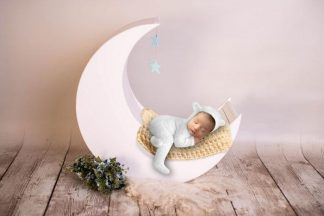 I love moon | Baby Photography backdrop - Littleaarchi