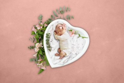 My lovely heart | Full Baby Photography backdrop - Littleaarchi
